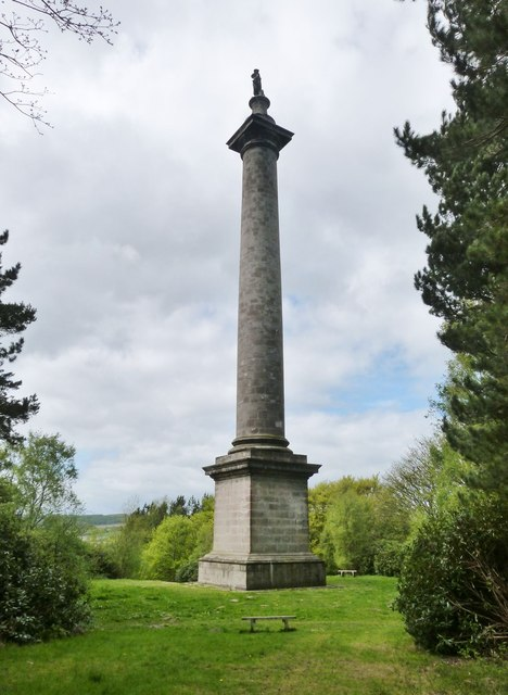Monument to British Liberty, Gibside