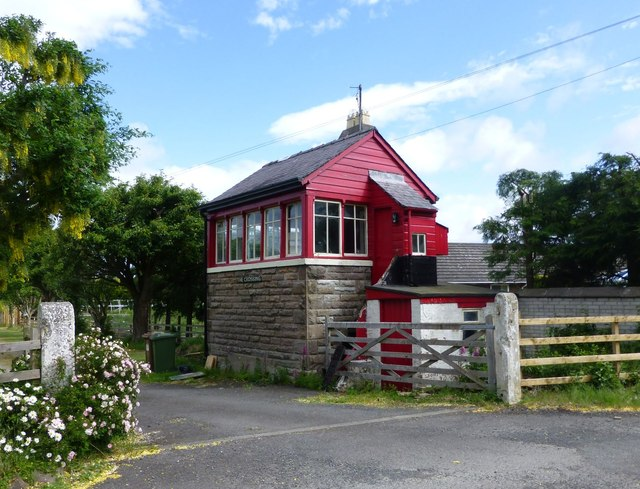 Signal Box, Haugh Head