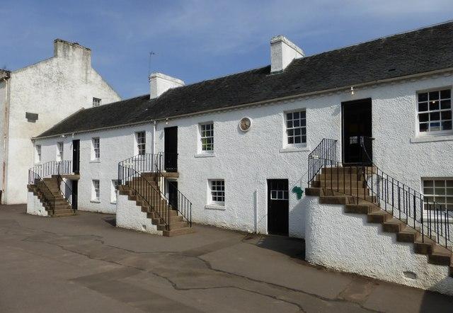 19thC mill housing at Blantyre