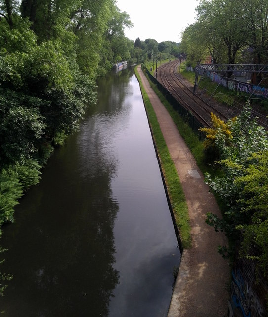 Canal in Edgbaston