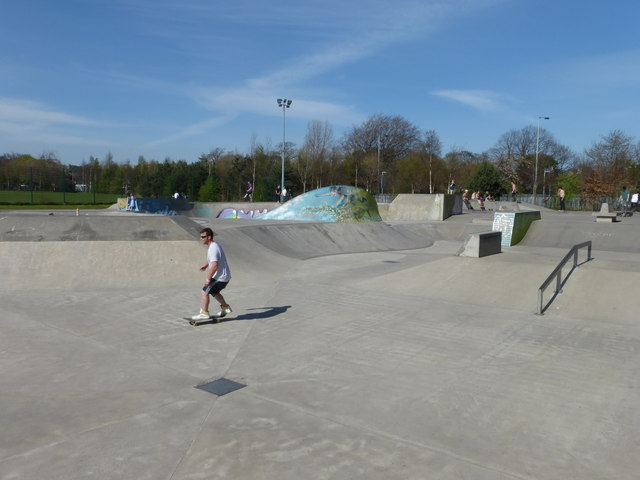 Saughton Skatepark