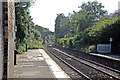 SD5203 : Along the lines, Orrell railway station by El Pollock