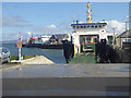 HY4411 : Shapinsay ferry at Kirkwall Harbour by Oliver Dixon