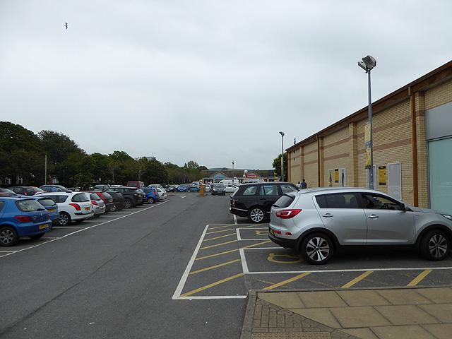 Rheidol Retail Car Park Aberystwyth