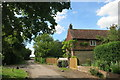 SP7605 : House at the end, Ilmer by Des Blenkinsopp
