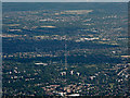 TQ3372 : Dulwich and Crystal Palace from the air by Thomas Nugent