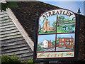 TL0728 : Streatley village sign by Bikeboy