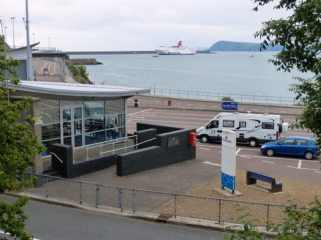 Fishguard ferry port robin drayton cc by sa 2 0 - Rosslare ferry port arrivals ...