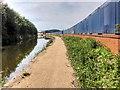 SJ7996 : The Bridgewater Canal at Trafford Park by David Dixon