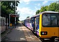 SE3802 : Departing Train at Wombwell Station by Jonathan Clitheroe