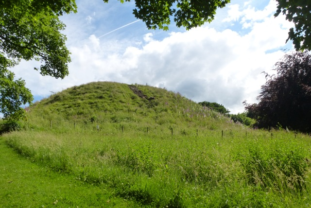 Haw Hill, Motte and Bailey