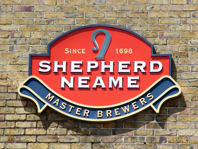 Shepherd Neame logo, North Lane