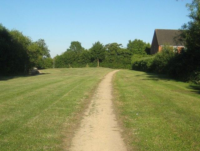 Daventry: Housing estate open space