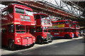 TL2601 : Vintage buses in Potters Bar bus garage : Week 28