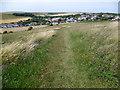 TQ3603 : Path to Ovingdean by Marathon
