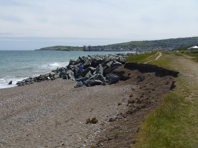 Erosion on The Murrough
