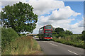 SP6507 : Bus going to Ickford by Des Blenkinsopp