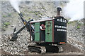 NY3224 : Threlkeld Quarry - steam excavator (navvy) by Chris Allen