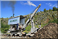 NY3224 : Threlkeld Quarry & Mining Museum - steam Navvy by Chris Allen