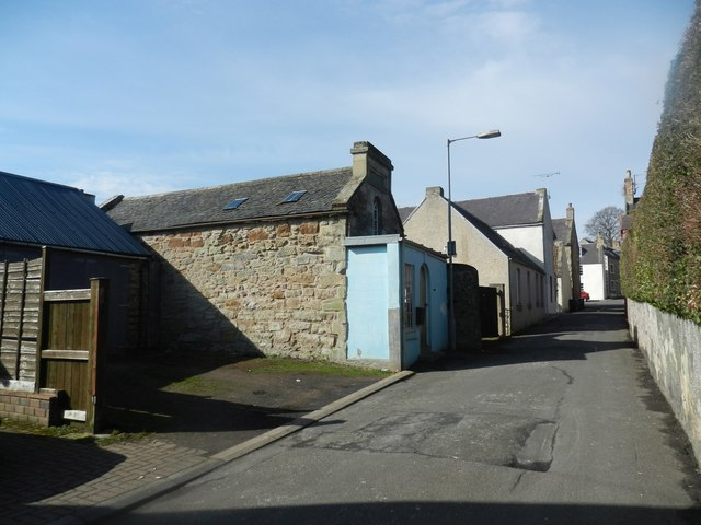 Willis Wynd in Duns, Berwickshire