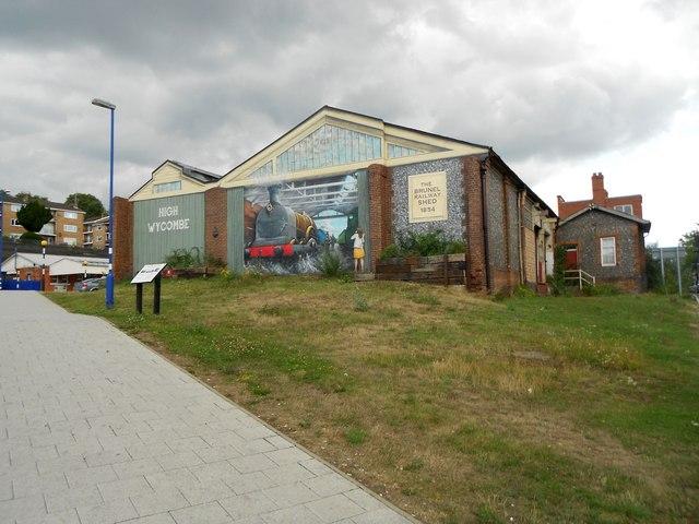 High Wycombe: The original Brunel railway station