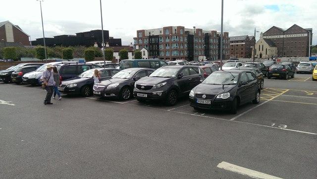 Gloucester Car Park Southampton
