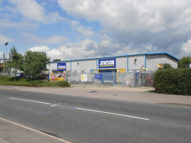 High Wycombe: Jewson builders' merchants