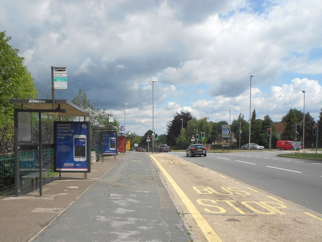 high wycombe marlow hill bus stops nigel cox cc by sa 2. Black Bedroom Furniture Sets. Home Design Ideas