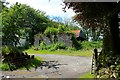 SN5741 : Pant-y-crwys Farm by Oliver Strange