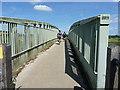 TQ0212 : Crossing the Arun bridge by Richard Law