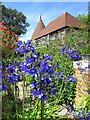TQ6622 : Perch Hill Farm Oast & Garden by Oast House Archive