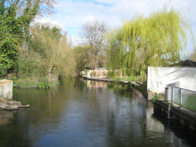Colne Brook at Hythe End