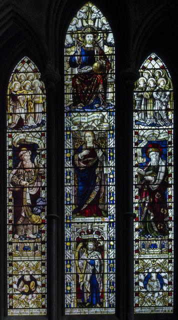 Stained Glass Window Worcester 169 Julian P Guffogg