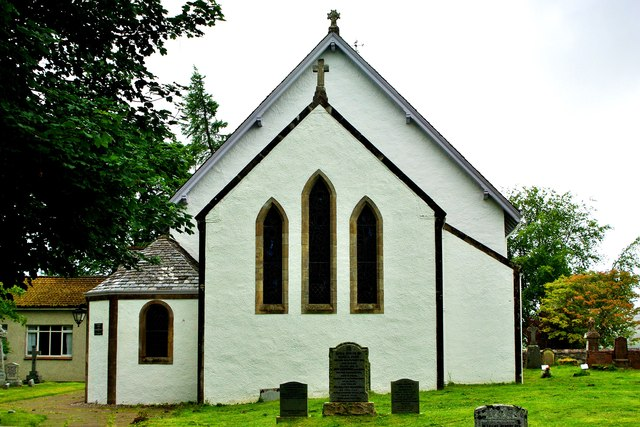 Kilmonivaig Church - chancel and vestry