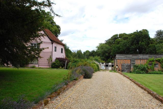 Drive to Bury Manor