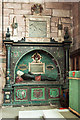 SJ5658 : St Boniface church, Bunbury - monument to Sir George Beeston (1) by Mike Searle