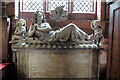 SJ5562 : St Helen's church, Tarporley - monument to Sir John Crewe (1) by Mike Searle
