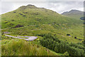 NN2307 : View down Glen Croe by David P Howard