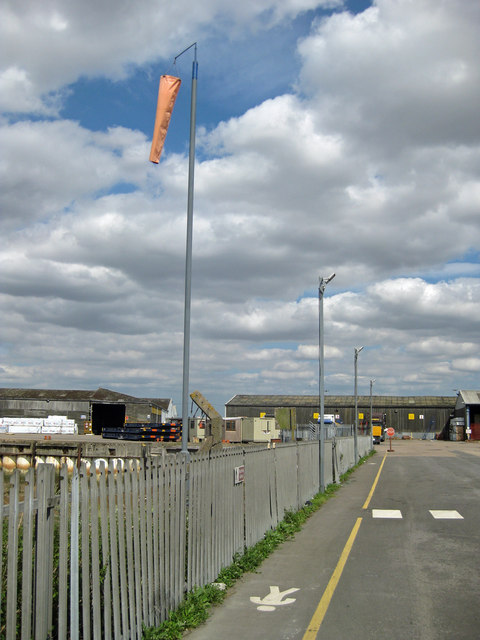 The Public Footpath at New Holland Dock