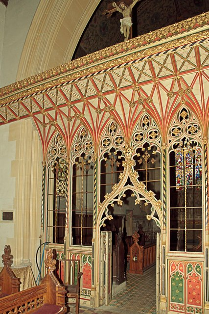 Rood Screen St Mary's West Tofts