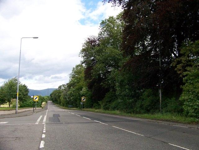 A977 road