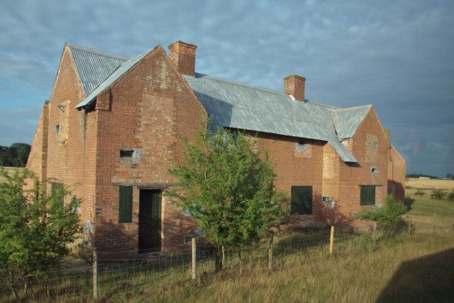 Derelict council houses
