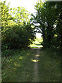 TL0752 : Bridleway to Ravensden Road by Adrian Cable