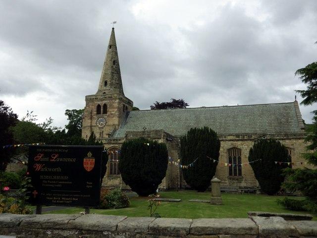 St Lawrence, Warkworth