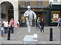TQ3080 : Painted figure in Covent Garden : Week 32
