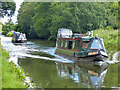 SJ6987 : Narrowboats on Bridgewater Canal by Dave Dunford