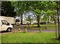 ST5774 : Filming at Redland church by Derek Harper