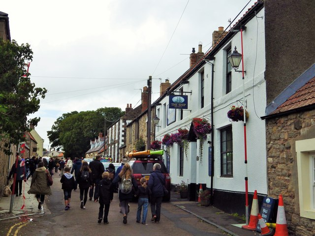 The Ship Inn, Marygate, Lindisfarne