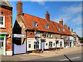TF8109 : Kings Arms Coaching Inn, Swaffham Market Place by David Dixon