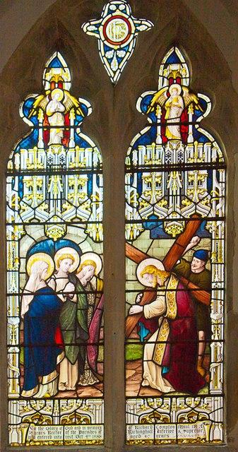 Rickinghall Inferior church, memorial to Rev Richard Compton MAUL